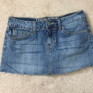 Guess Jeans Mini Skirt Size 12